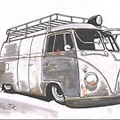 White Van by Sharon Poulton