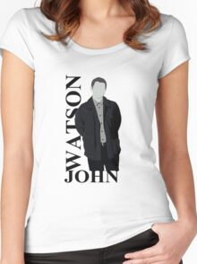 John Watson Women's Fitted Scoop T-Shirt