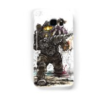 Bioshock Subject Delta with Little Sister sumi style Samsung Galaxy Case/Skin