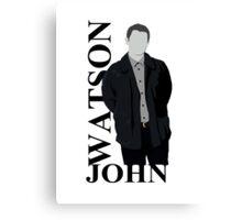 John Watson Canvas Print
