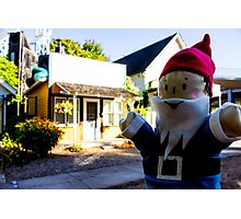 Town Gnome Photographic Print