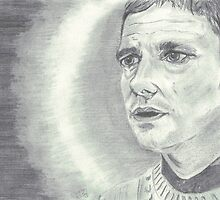 Martin Freeman Dr Watson by Caroline Smalley