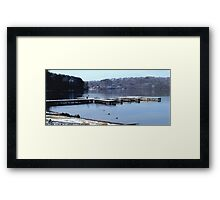 Lake Guntersville, Alabama Framed Print