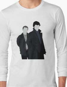Sherlock and John Long Sleeve T-Shirt