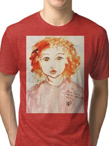 Alice Still In Wonderland Tri-blend T-Shirt