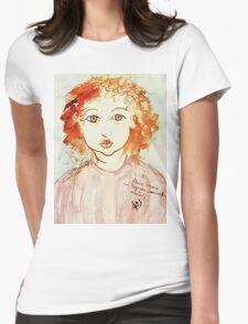 Alice Still In Wonderland Womens Fitted T-Shirt