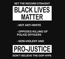 Black Lives Matter Movement Synopsis Unisex T-Shirt