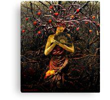 THE EMPRESS (tarot card) Canvas Print