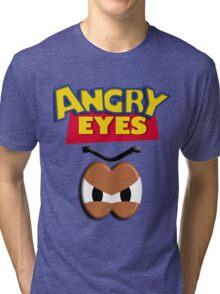 Angry Eyes Tri-blend T-Shirt