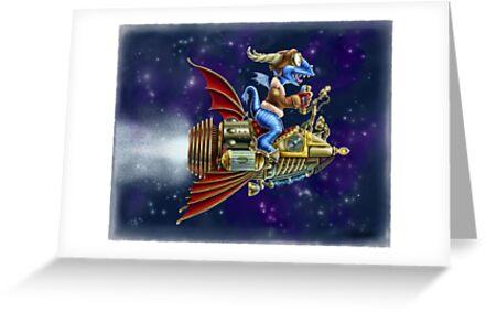 Verne's Steamrocket by Kyle Gentry
