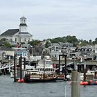 Pronvincetown Harbor by Chris  Bradshaw