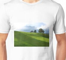 Rolling Green Fields at End of Day Unisex T-Shirt