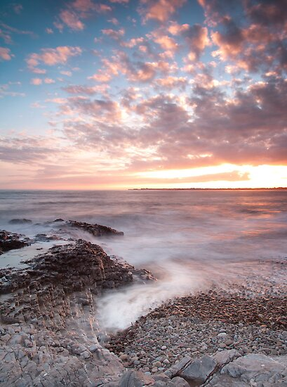 Ogmore Coastal Sunset by dipper84