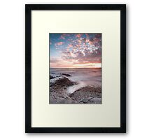 Ogmore Coastal Sunset Framed Print