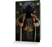THE PRISONER OF TIME Greeting Card