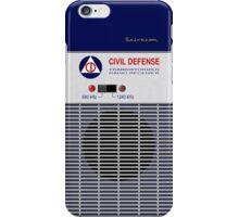 Civil Defense Radio iPhone Case/Skin