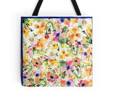 Colorful Poppies Tote Bag