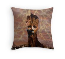 The Last Tree Standing Throw Pillow