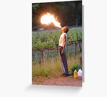 I fire fly Greeting Card