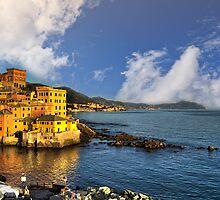 Genoa Boccadasse by guido nardacci