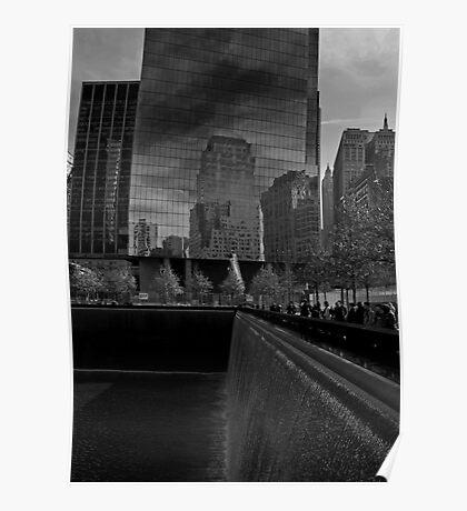 Manhattan Reflections Poster