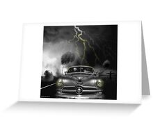 THUNDER ROAD Greeting Card