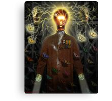 IDEA  MAN Canvas Print