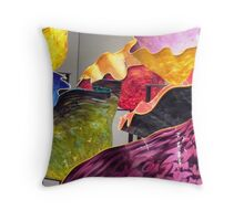 Colorful CHIHULY Throw Pillow