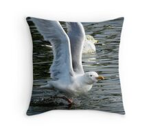 Going for It! Throw Pillow