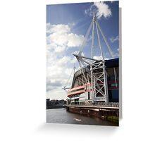 Cardiff Millennium Stadium Greeting Card