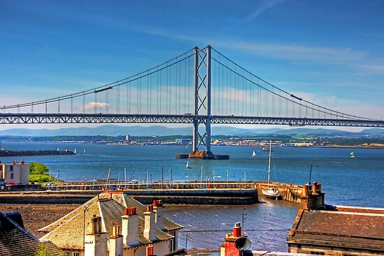 Bridge and Harbour by Tom Gomez