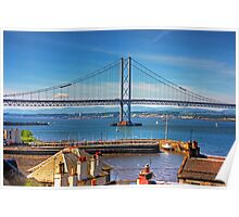 Bridge and Harbour Poster