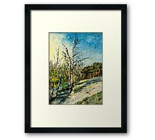 Spring at Upper Selsdon, Surrey, England. Framed Print
