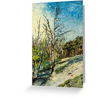 Spring at Upper Selsdon, Surrey, England. Greeting Card