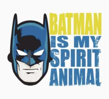 Batman Is My Spirit Animal Kids Clothes
