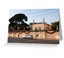 Belém Palace in Lisbon Greeting Card