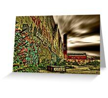 HDR Graffiti Greeting Card