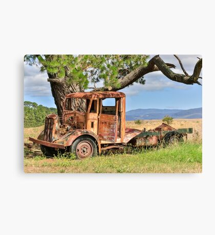 Rusty Old Truck Canvas Print