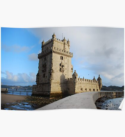 Belém Tower in Lisbon, Portugal Poster