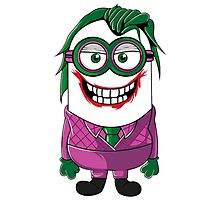 Parody Joker Minion Photographic Print