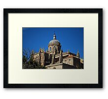 New Cathedral Dome in Salamanca Framed Print