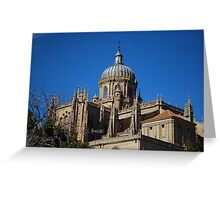 New Cathedral Dome in Salamanca Greeting Card