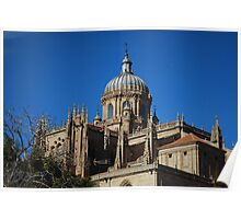 New Cathedral Dome in Salamanca Poster