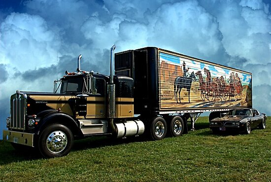 """1973 Kenworth W900A """"Smokey and the Bandit"""" Tribute by TeeMack"""