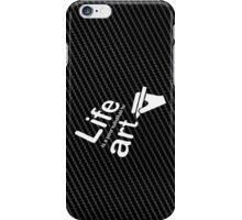Art v Life - White Graphic iPhone Case/Skin