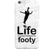 AFL v Life - Black Graphic iPhone Case/Skin