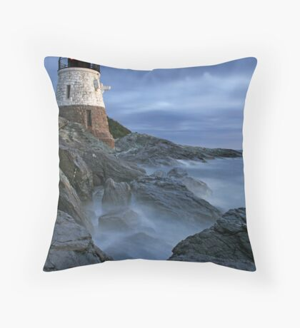 Castle Hill Lighthouse Throw Pillow