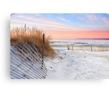 Dune Sunrise Canvas Print