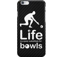 Bowls v Life - White Graphic iPhone Case/Skin