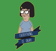 Everything Is Okay - Color One Piece - Short Sleeve